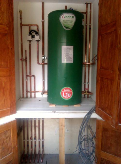 Boiler And Hot Water Cylinder Installations