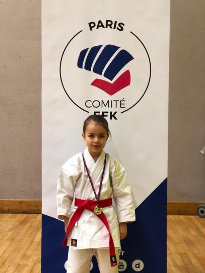 Marie VAZQUEZ championne Kata division 2