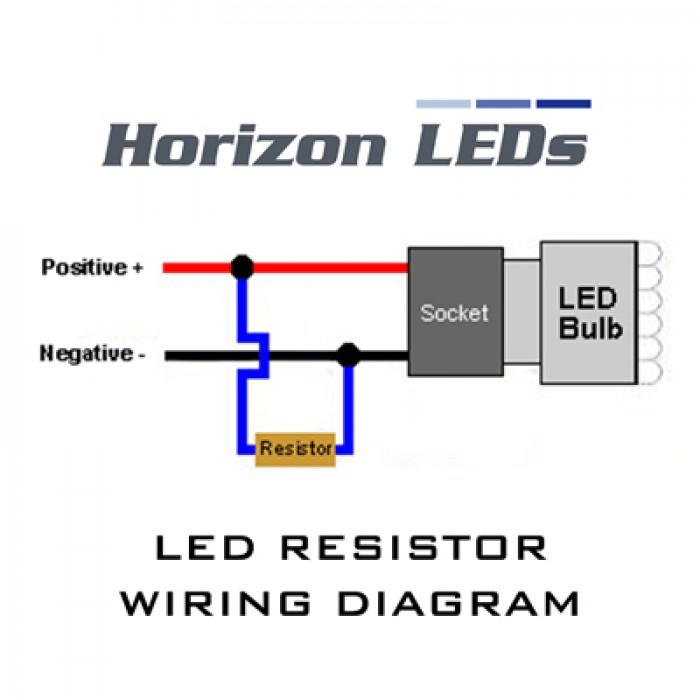 Honda Ridgeline Lighting Wiring Diagram 10w Led Canbus Error Free Load Resistor Kit