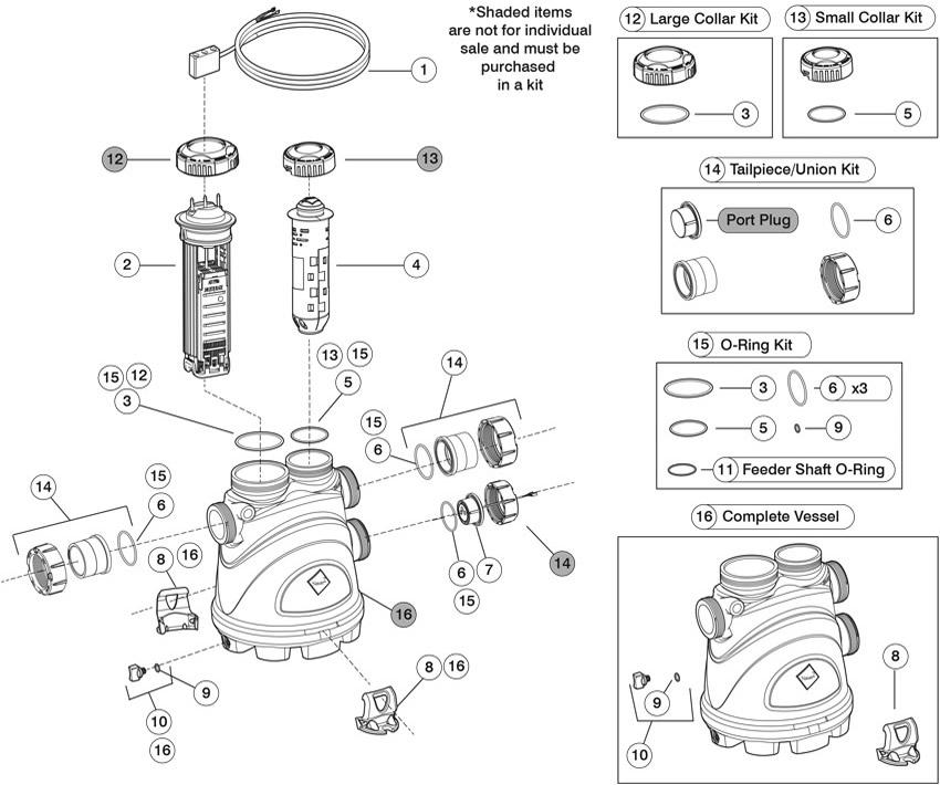 Zodiac Nature2 Fusion Soft, Salt Chlorine Generator