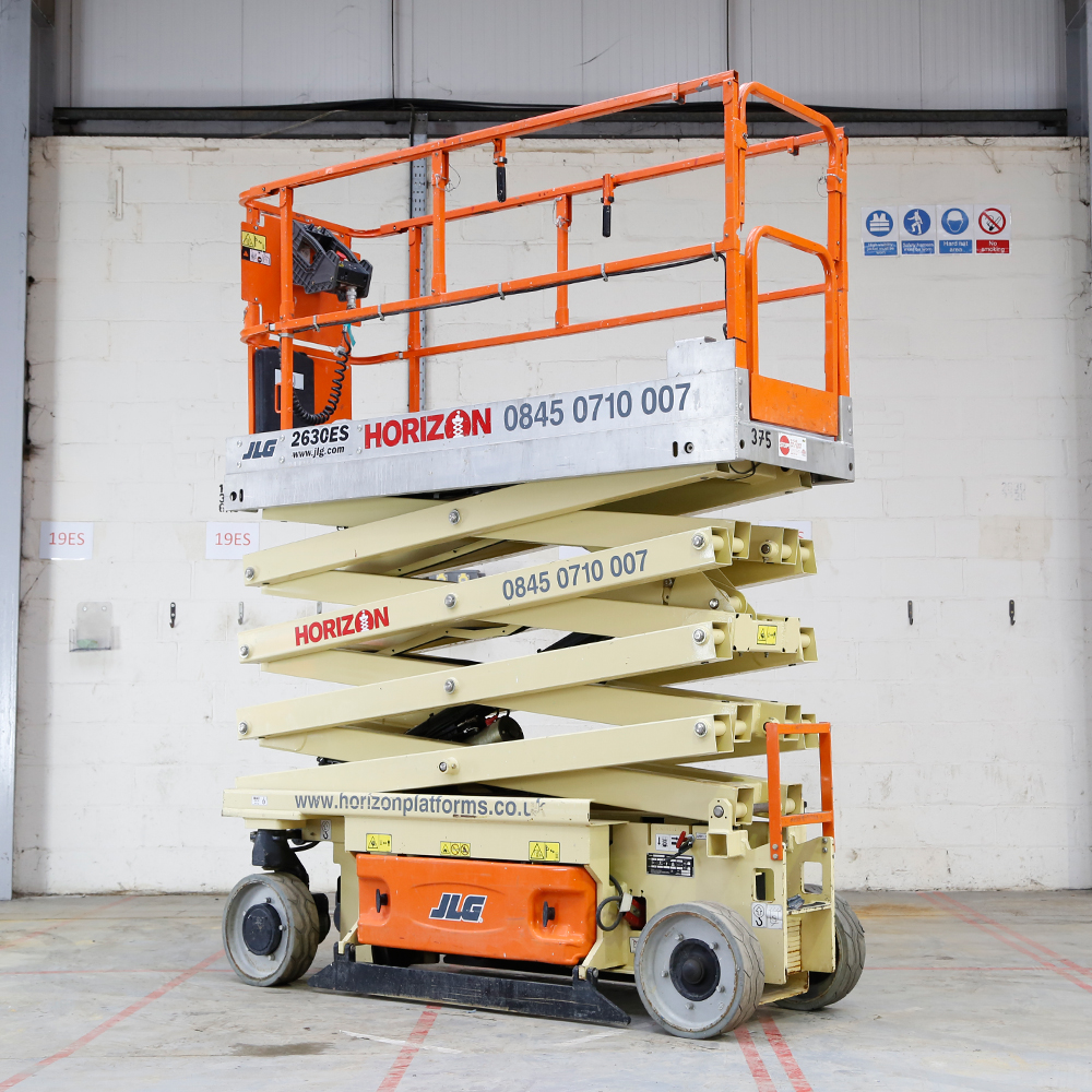 medium resolution of 8m battery scissor lift jlg 2630es