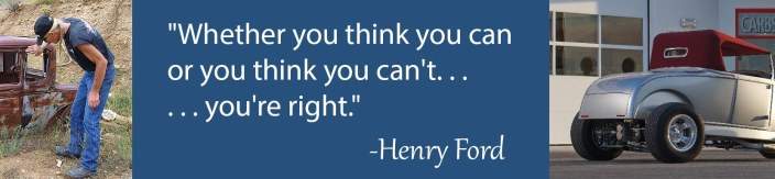 Ford Quote think U can