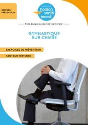 Gymnastique sur chaise