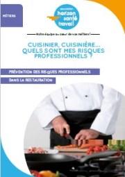 Cuisinier, cuisinière… Quels sont mes risques professionnels ?
