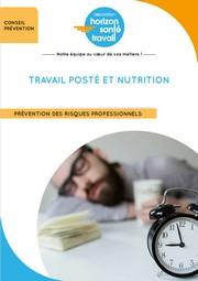 Travail posté et nutrition