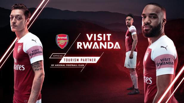 ruanda mit dem fc arsenal