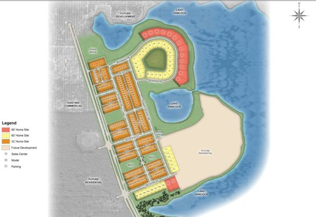 The Cove at Hamlin Site Map Plan