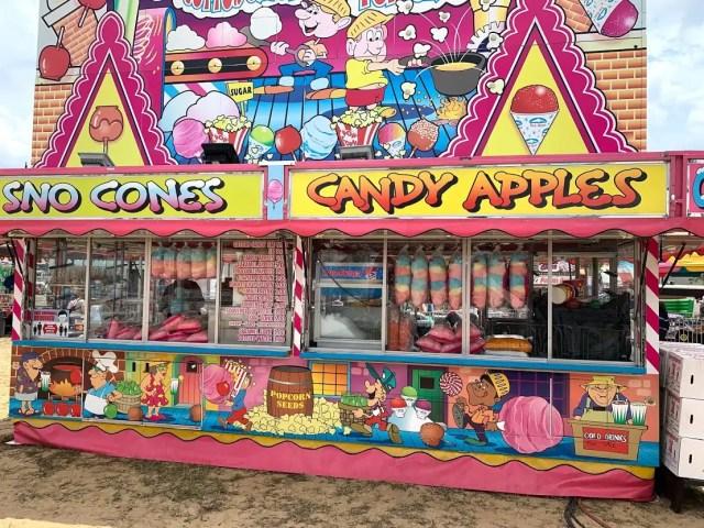 Hamlin Fair Candy Apples