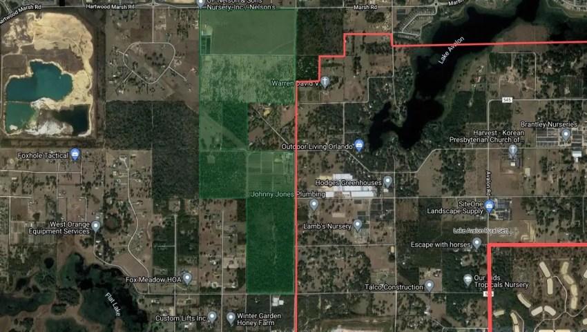 McKinnon Groves Map