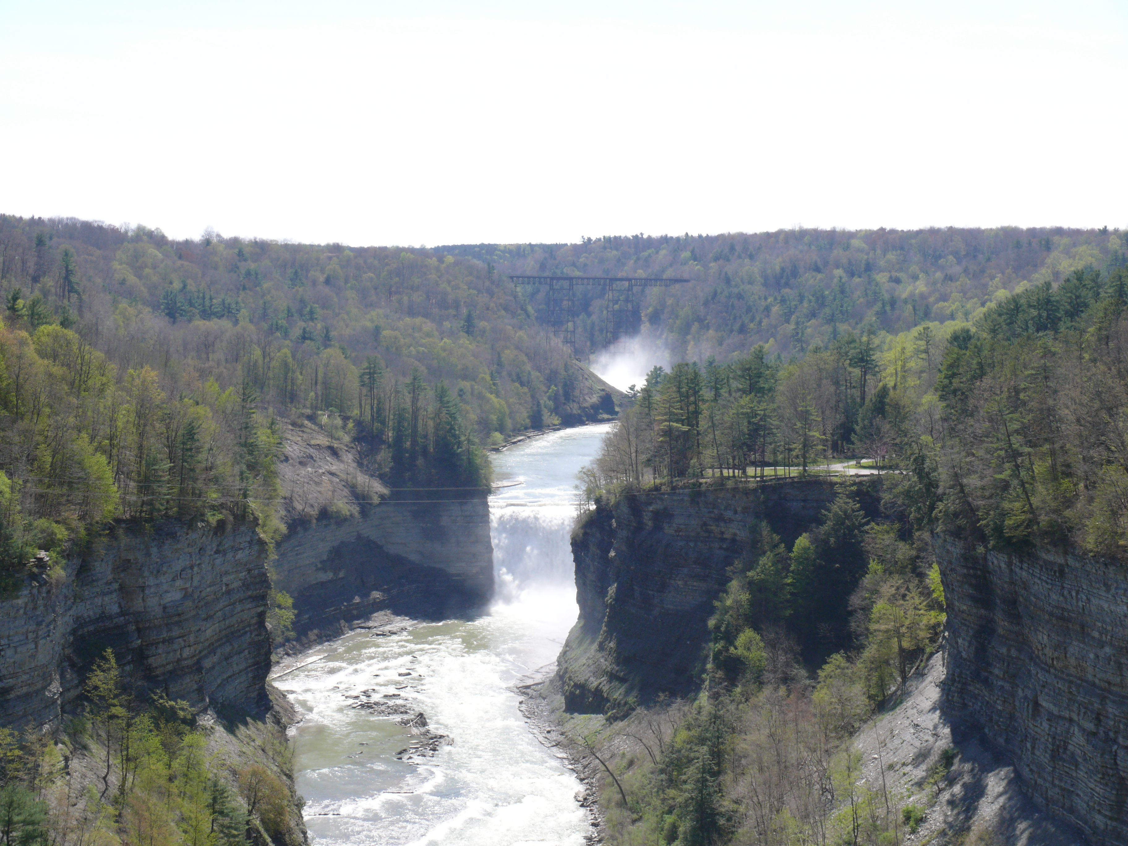 Letchworth State Park and the Portage Canyon  MangoLassi