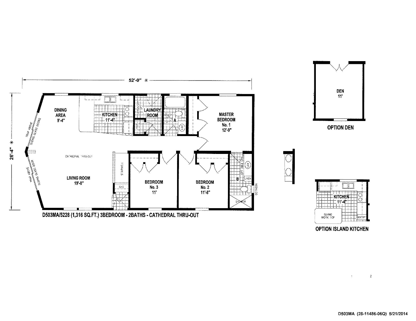 Wood Manor D503MA
