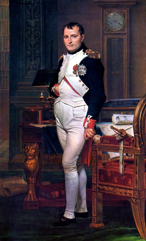 Napoleon Bonaparte (1769 – 1821), Jacques-Louis David