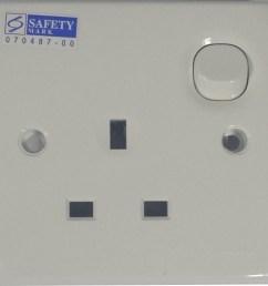clipsal 1 gang switch socket 13a e15 [ 1006 x 997 Pixel ]