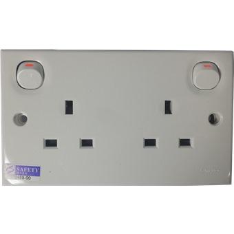 mobile home kitchen faucets penny tile backsplash clipsal 2 gang switch socket 13a~ e25 | electrical ...