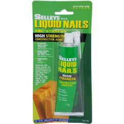 Industrial Kitchen Hardware Cabinets Madison Wi Selleys Liquid Nails High Strength 75gm-106711 | Adhesives ...