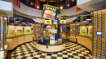 Is it true you have a museum dedicated to the SPAM® brand ...