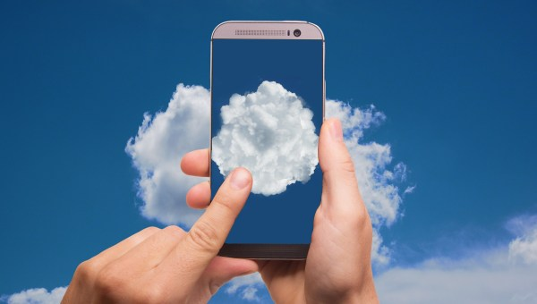 cloud computing with mobile phone
