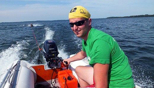 bezpieczeństwo - ponton motorowy