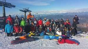 obóz narciarski Val di Fiemme 2016