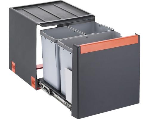 EinbauAbfallsammler Franke Cube 40 3fach Abfalltrennung bei HORNBACH kaufen