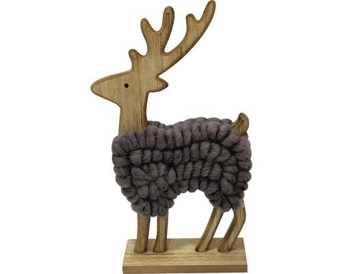 Rentiere Aus Holz Elch Rentier Aus Holz Mit Pullover U