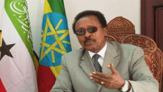Somaliland's Ambassador to Ethiopia, Ahmed Hassan Egal,