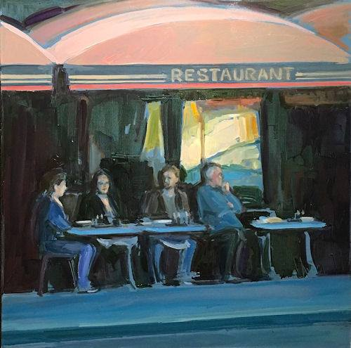DINE O'ROUND In Paint II