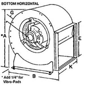 Blower Motor Housing Squirrel Cage Blower Housing Wiring