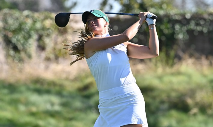 KOGA, VIDEN HELP LEAD WOMEN'S GOLF TO A TIE FOR FIFTH AT THE GOLD RUSH
