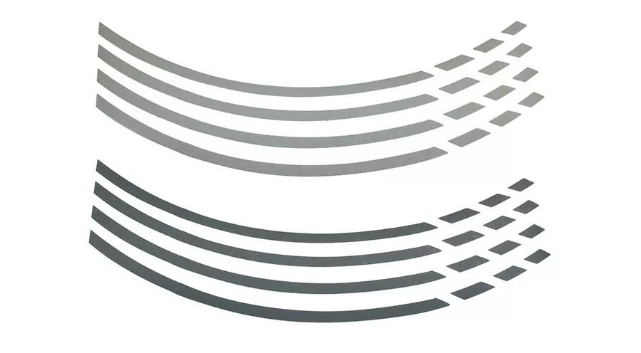 Autocollants de jante universels pour BMW R 1200 GS, LC