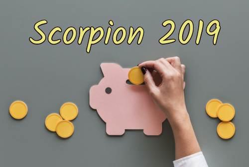 scorpion 2019 - le travail et l'argent