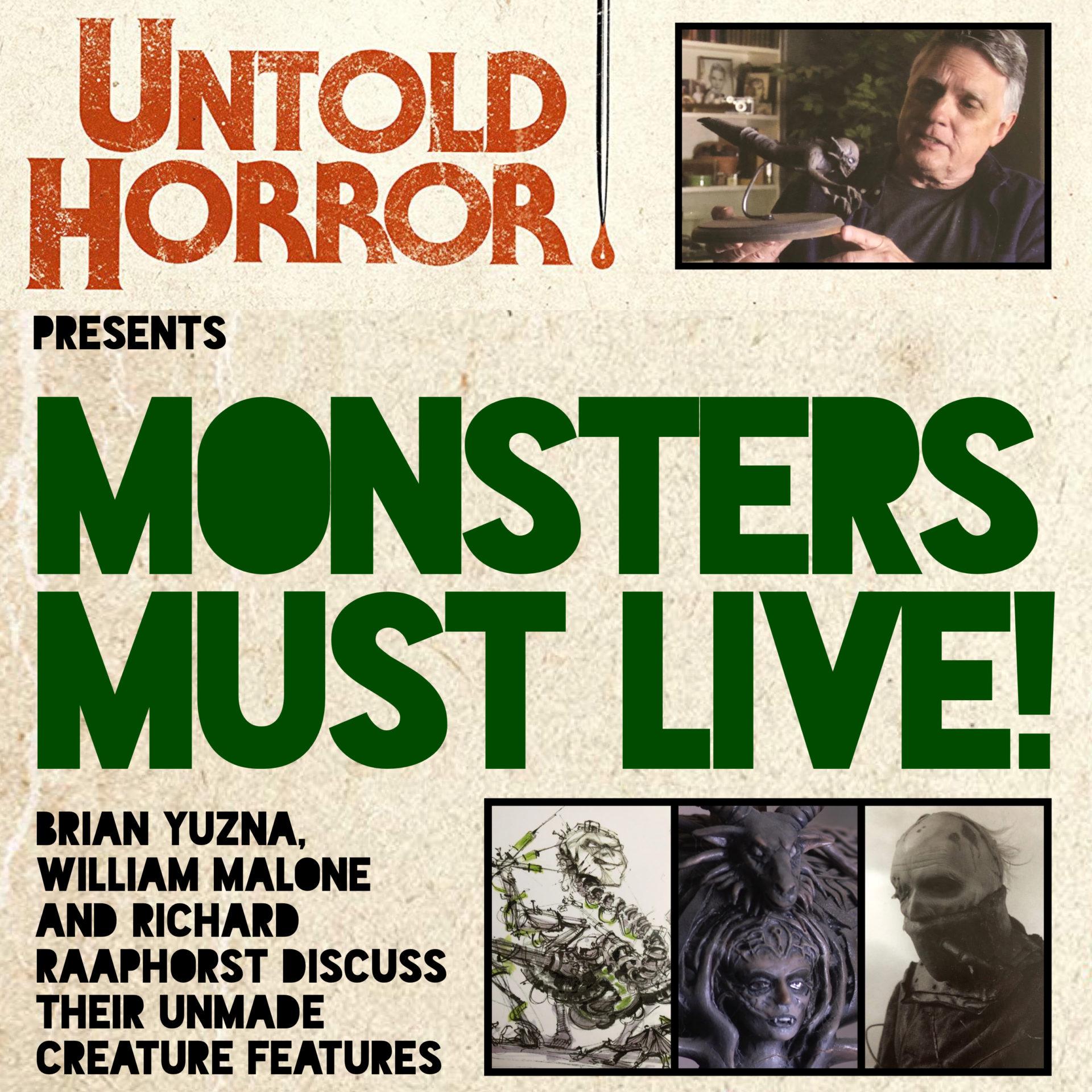 Untold horror monsters affiche film