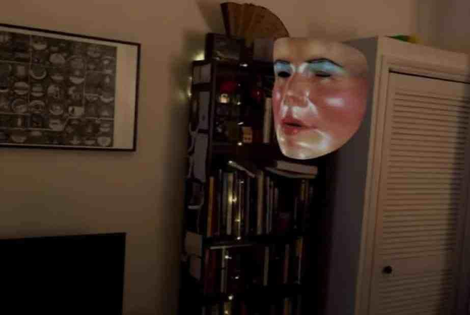 sinister floating mask in Host