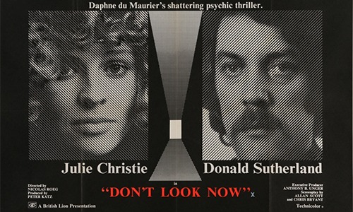 Don't Look Now quad poster