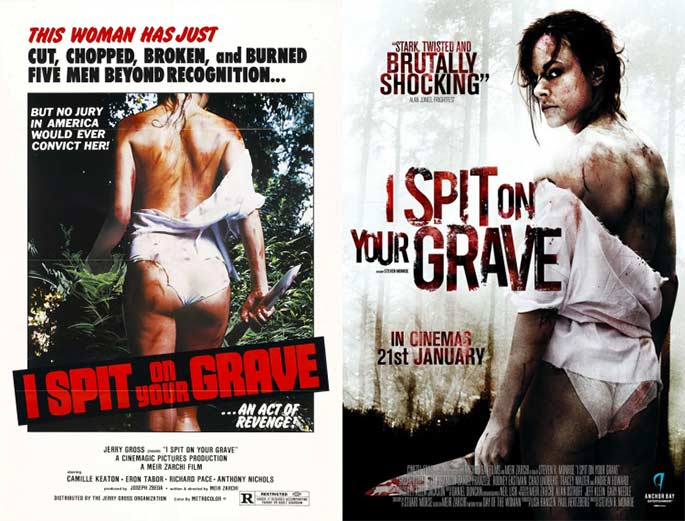 i-spit-on-your-grave-remake-and-original-movie-posters