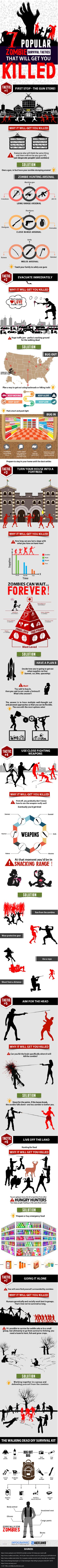 ZombiesInfographic-7-popular-zombie-survival-tactics