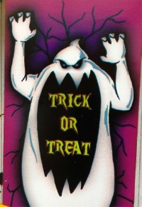 Ghost Door Decoration & Halloween Door Hanger Ghost Door ...