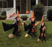 Decorations - Witchy Group Outdoor Halloween ...