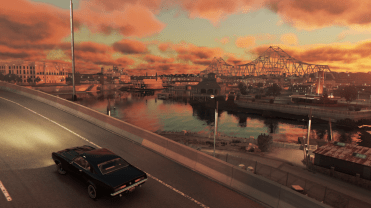Mafia 3 - E3 Screenshot - city drive 2 © 2016 2K Games