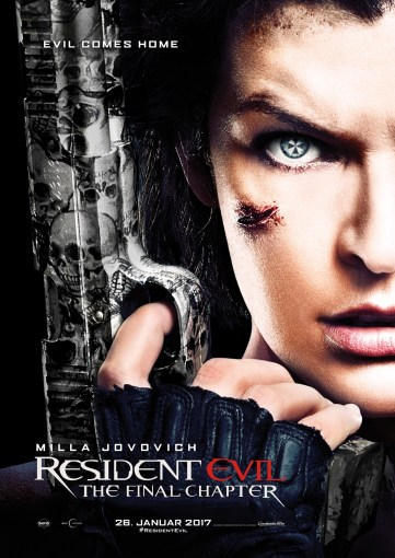 Resident Evil 6 TeaserPlakat © 2016 Constantin Film Verleih GmbH