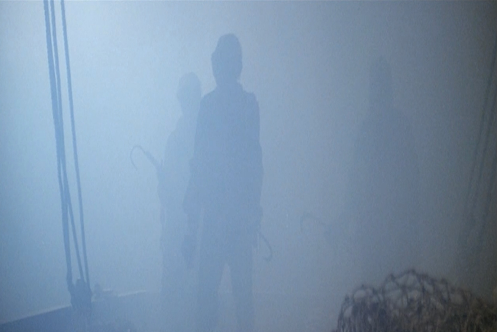 4. The Fog, the lepers emerge from the fog, from ship