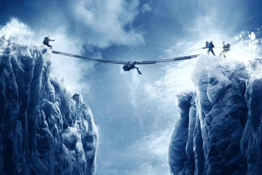 3. Everest, ladder
