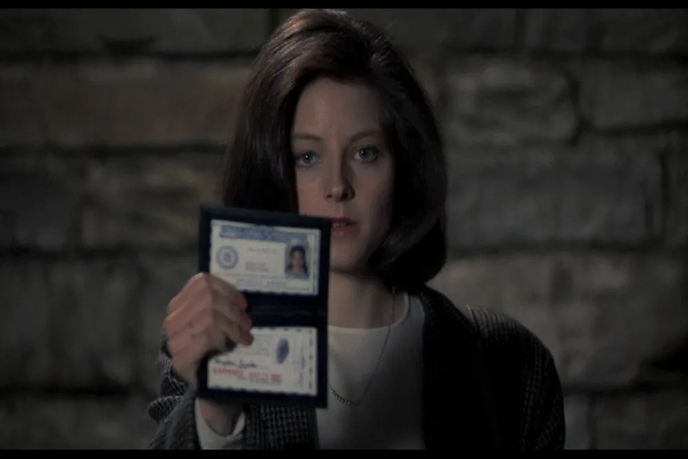 Clarice in Silence of the Lambs