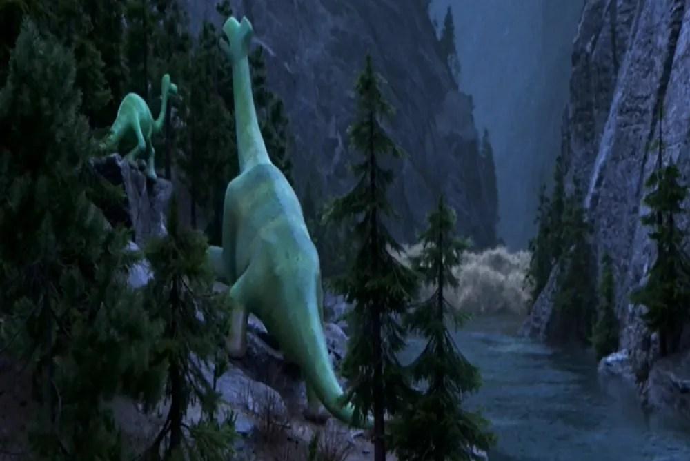 1. The Good Dinosaur, tidal wave