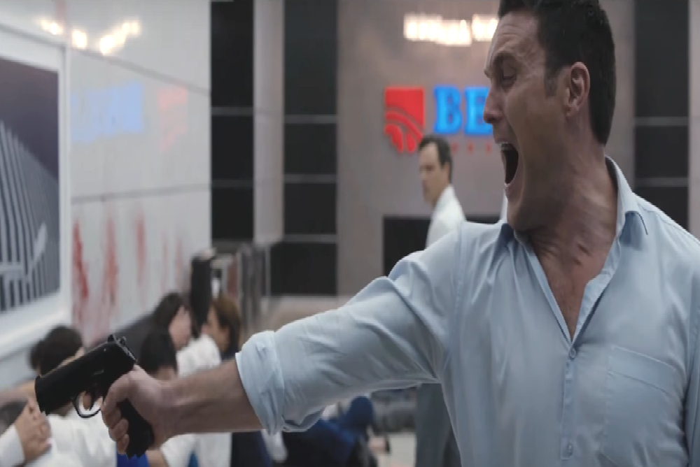 The execution scene is operatic in its style and use of music. The Belko  Experiment offers up ...