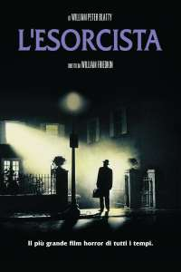 "Poster for the movie ""L'esorcista"""