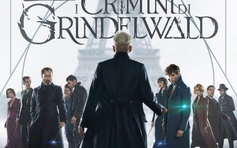 "Poster for the movie ""Animali Fantastici: I crimini di Grindelwald"""