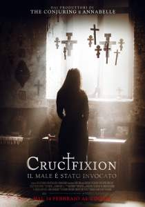"Poster for the movie ""Crucifixion"""