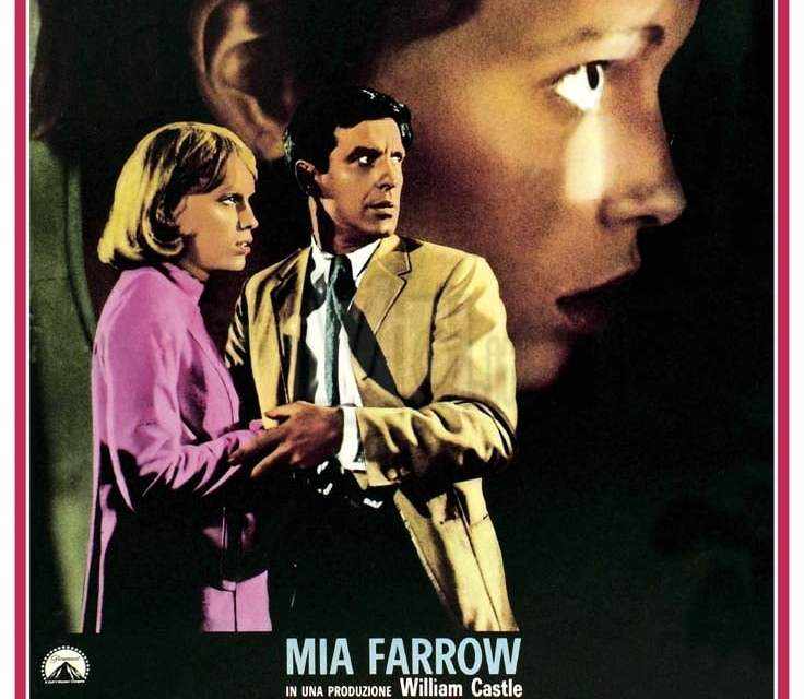 """Poster for the movie """"Rosemary's Baby - Nastro rosso a New York"""""""