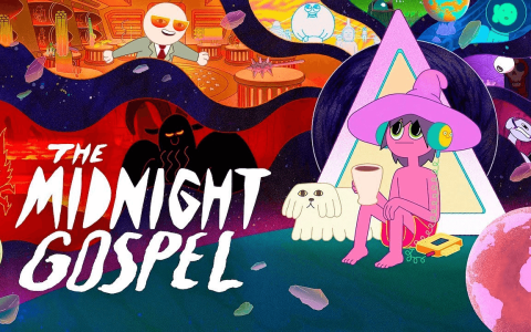 The Midnight Gospel, animazione psichedelica su Netflix